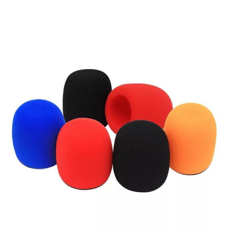 Copertura Microfono Schiuma sfera-Type per Karaoke Mic Cap parabrezza protettivo Grill Shield