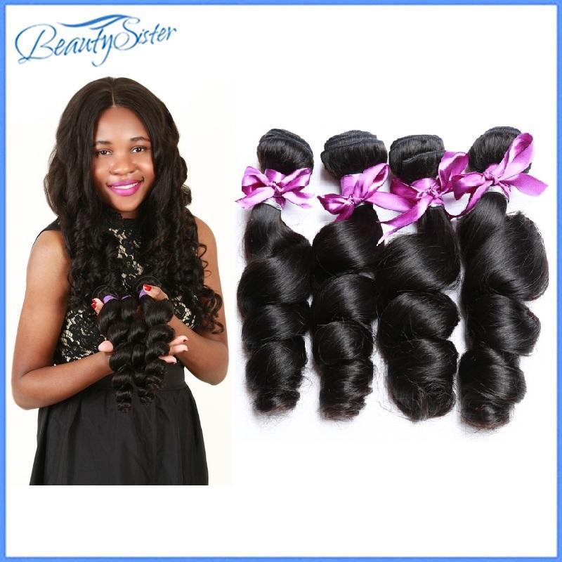 10A Loose Wave Bundles Indian Human Hair Bundles Extensions Nicelight Short Hair Bundle Long10-30Inch Single Bundles 4Bundle 400g Deals