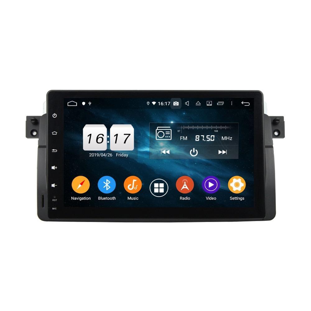 "DSP 4 GB de RAM Octa Core 9"" Android 9.0 coches reproductor de DVD para BMW E46 M3 1998-2005 radio del GPS Bluetooth 4.2 USB WIFI Espejo Iink"