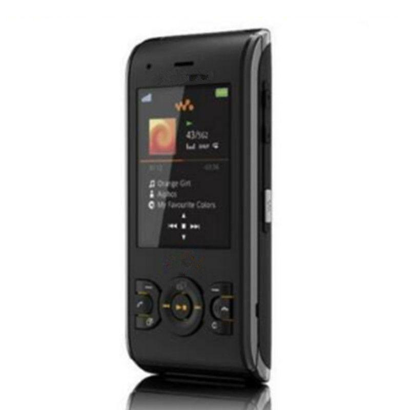 Sony W595 Original déverrouillé Ericsson W595 téléphone remis à neuf Symbian 3G 3.15MP curseur Caméra téléphone portable