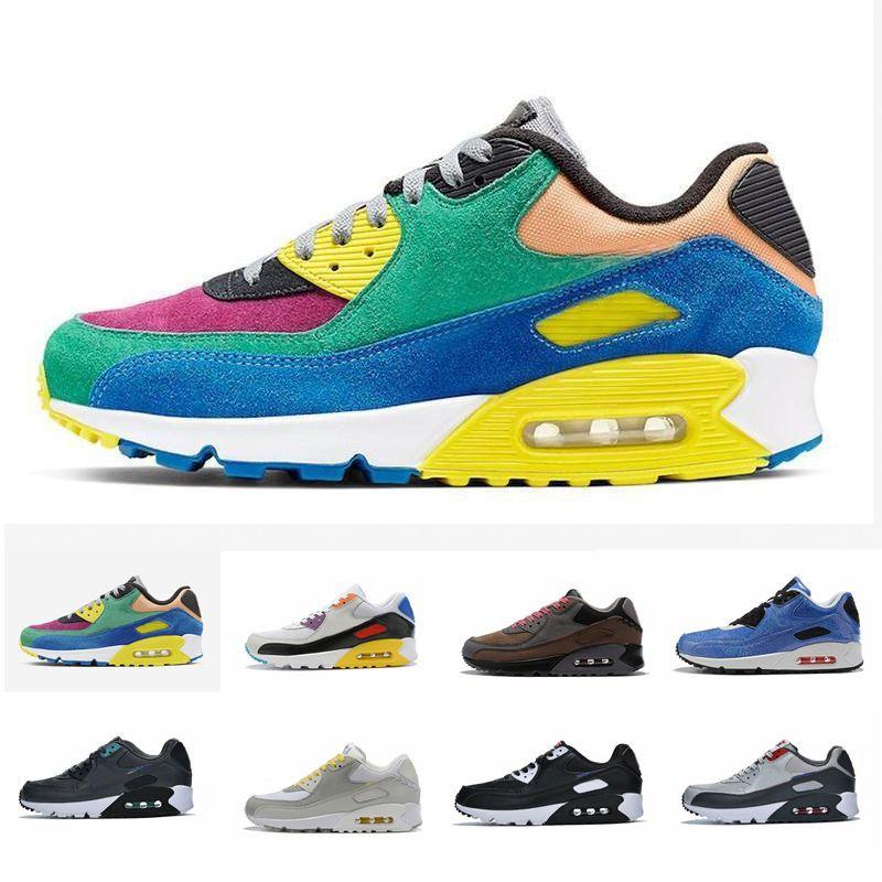 Compre Nike Air Max 90 Zapatillas De Running 2020 New 90 ...
