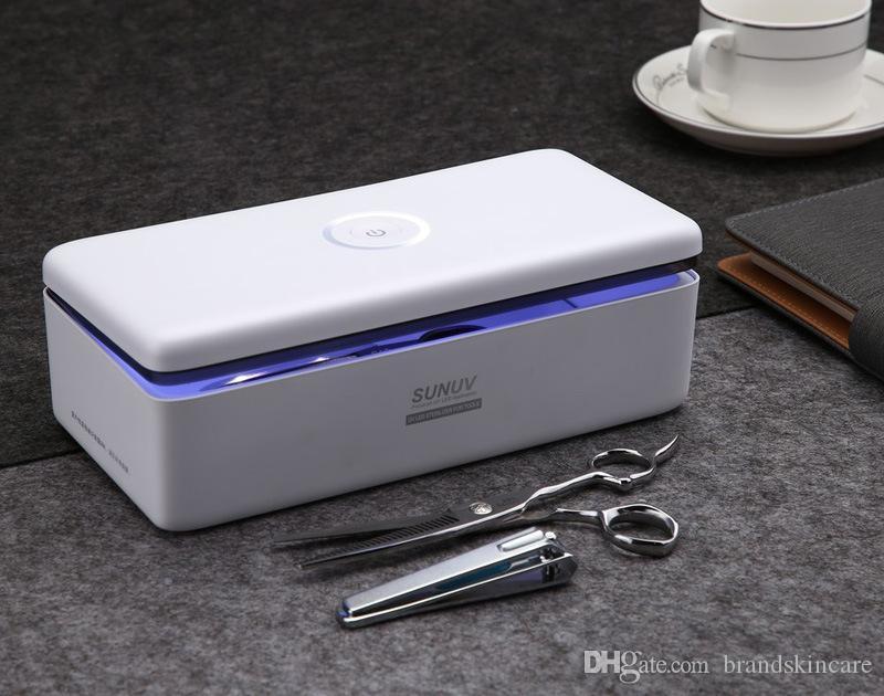 أدوات الأشعة فوق البنفسجية معقم صندوق الجمال معقم صندوق تخزين S1 S2 صندوق التطهير المحمولة لصالون الأظافر أدوات الفن