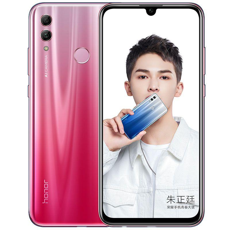 "Original Huawei Honor 10 Lite 4G LTE Cell Phone 6GB RAM 64GB 128GB ROM Kirin 710 Octa Core Android 6.21"" 24MP Fingerprint ID Mobile Phone"