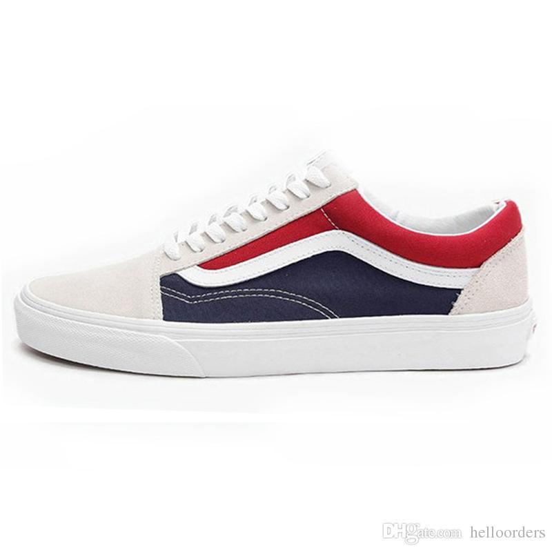 vans mujer zapatillas rojas