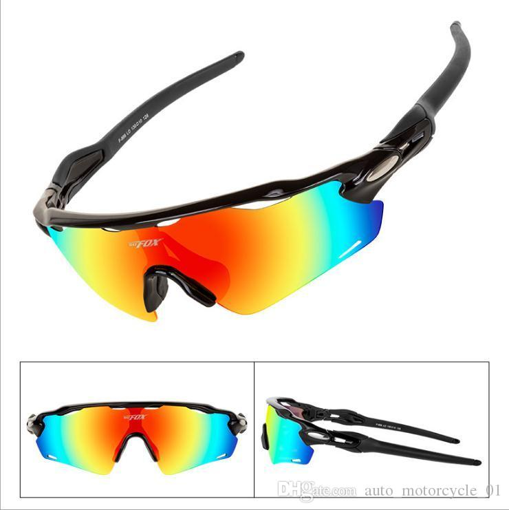 Lunettes de vente équitation F868 hôte protection sportive équitation molécule de mémoire TAC polarisée lunettes anti-UV avec la boîte