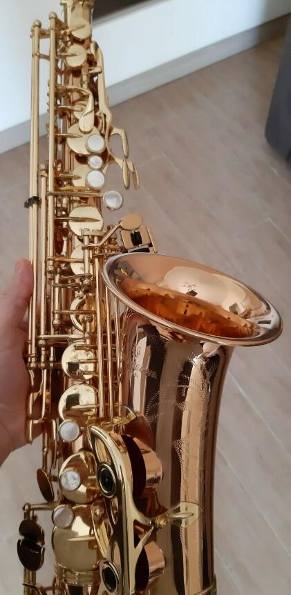ألتو ساكسفون ياناجيساوا 902 البرونزي (NEAR MINT) إب ساكس العظمى ساكس الصوت على استعداد للعب الآلات الموسيقية