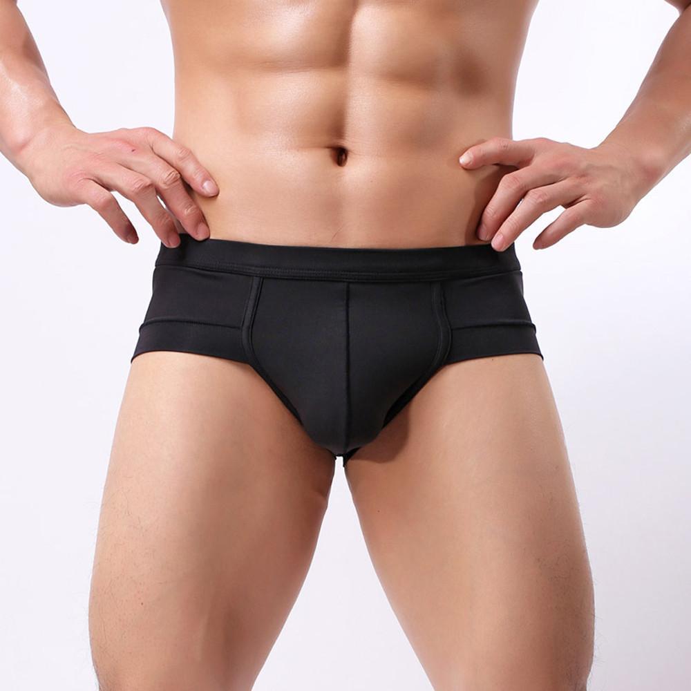 Sexy Men transpirable Breve resumen la ropa interior de los hombres de algodón Calzoncillos Calzoncillos Cueca hombre masculino bragas # 0528