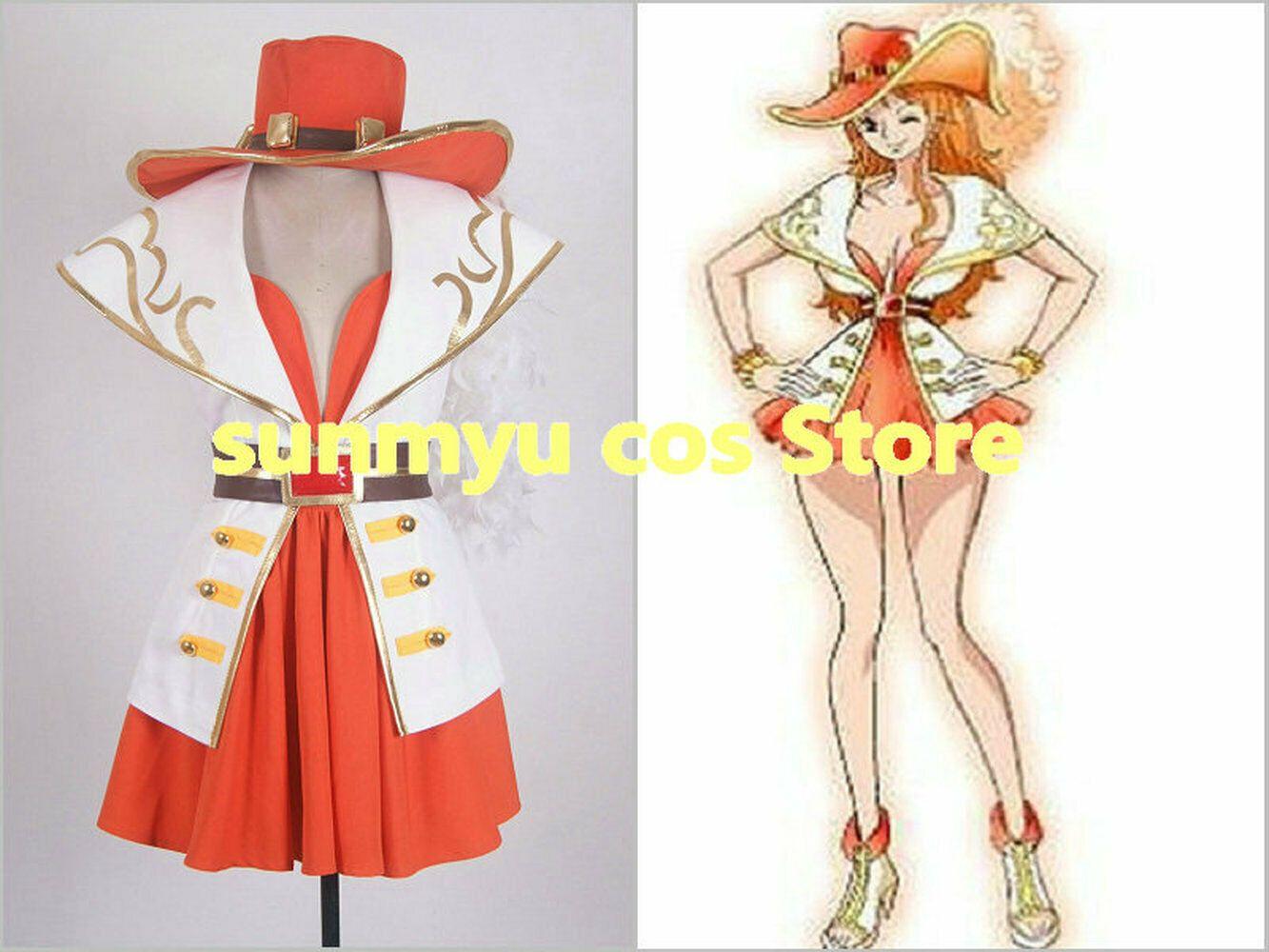 Costume cosplay Anniversario One Piece Nami Grandline Lady 15