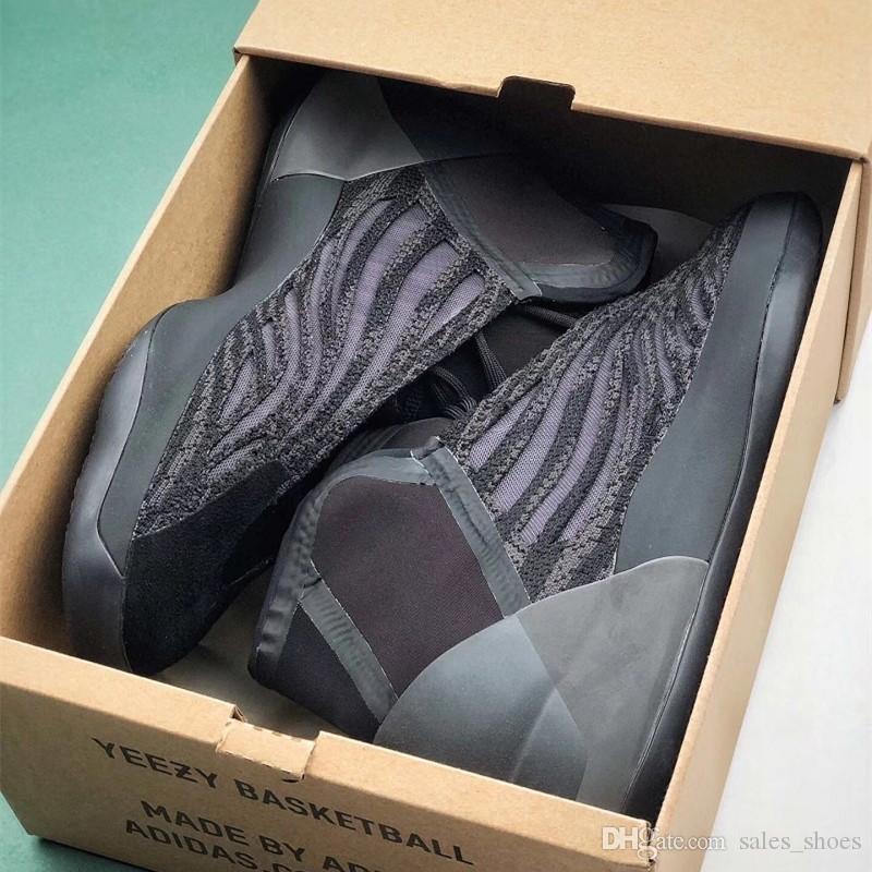 CALIDAD SUPERIOR PK cuántica Vanta Botas Hombre diseñador de las mujeres tamaño de las zapatillas de deporte Geode 3M reflectante Utilidad Negro inercia corredor de la onda 36-47