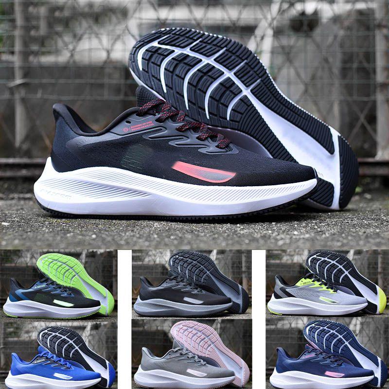 Toptan Winflo 7 Koşu Ayakkabıları Nefesli Hafif Arsa Ay Sneaker Erkekler Kadınlar Için Eğitim Spor