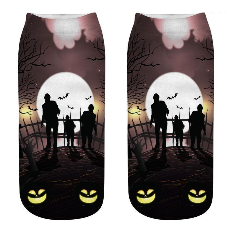 Cosplay Socks Winter Autumn Wear 3D Socks Men Women Halloween Trick Treat Designer Holiday