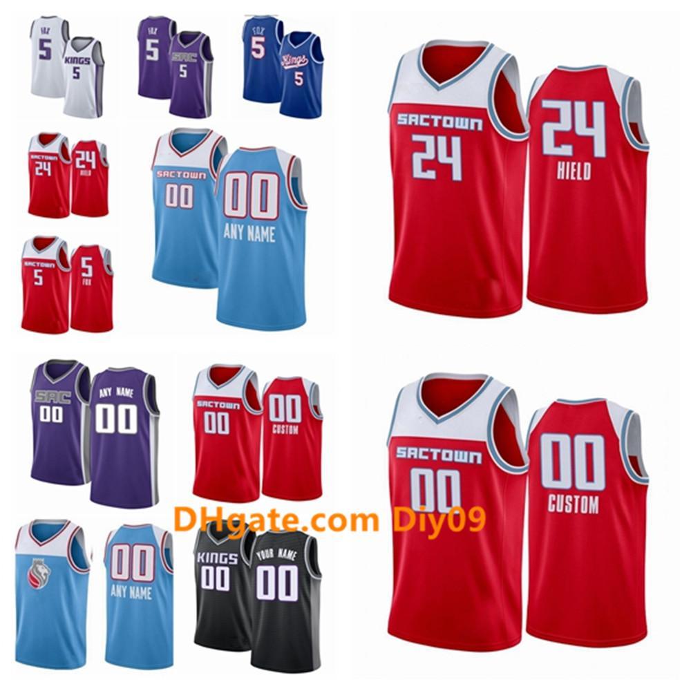 Sacramento personnaliséroisJersey Nemanja 88 Bjelica Bogdan8 Bogdanovic Mitch 2 Richmond City Swingman Edition Basketball Jerseys