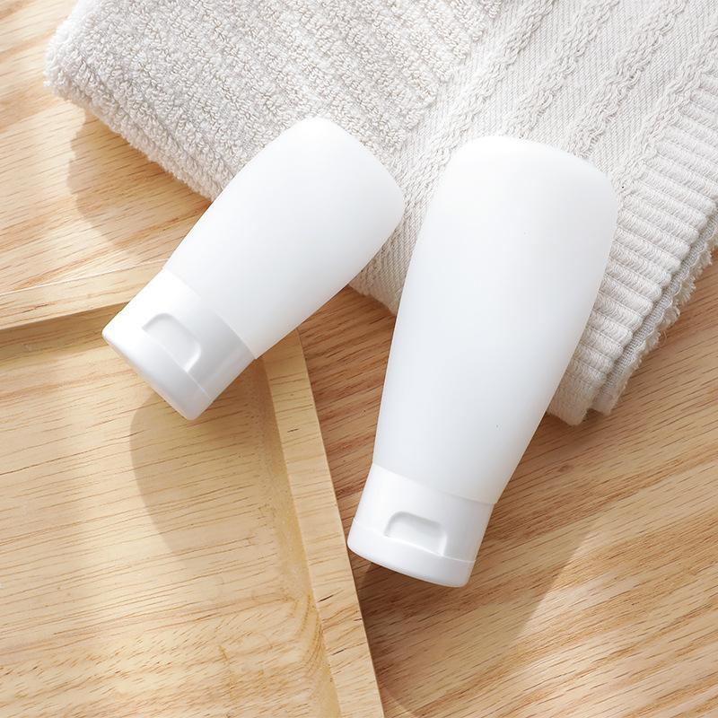 Bouteille de lotion de compression gel douche shampooing nettoyant pour le visage bascules cosmétiques de bouteilles vides sous-bottle30ml 60ml 100ml
