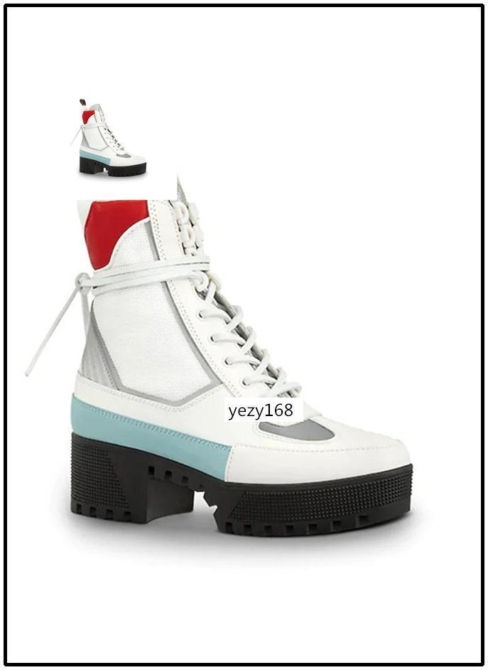 Con la scatola Laureate Piattaforma Desert Boot nuovi stivali stilista Vera Donna Stivali all'aperto lavoro Boots8