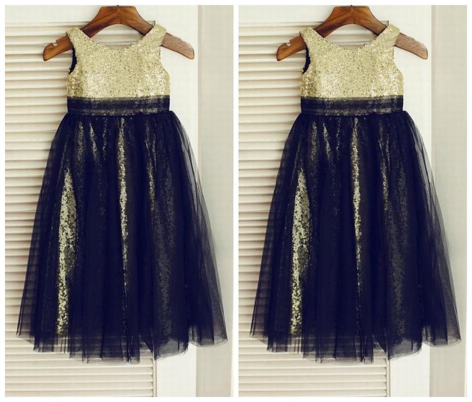 Charming Kids Flower Girl Dress, ragazze principessa Party Prom bambini DressTZ305