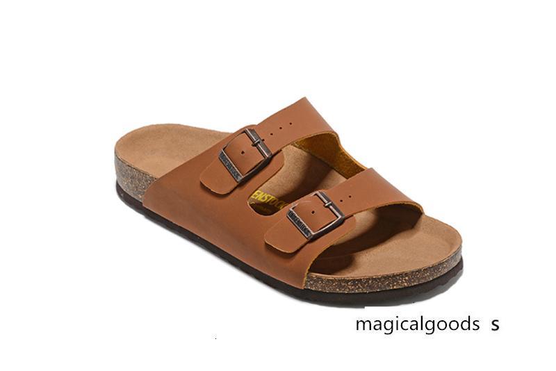 Sıcak satmak Arizona Kadınlar erkekler daire sandalet Mantar terlik gündelik baskı karışık renkler boyutu 35-46 unisex