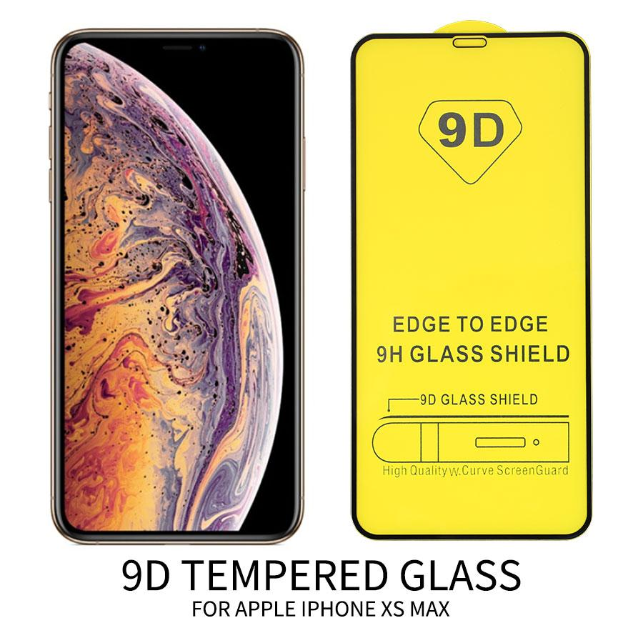 9d Vidro Temperado De Cobertura Completa Para Xiaomi Redmi 8T 6A Nota 7 5A Pro 4x Mi 8 9 SE película protectora de ecrã de brincar sem caixa de retalho
