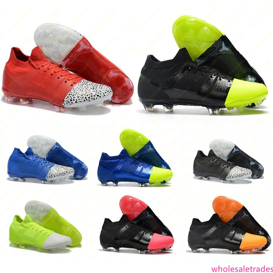 Мужская футбольная обувь Mercurial Greenspeed GS 360 FG футбольные бутсы Superfly Crampons de football boots chuteira 39-45