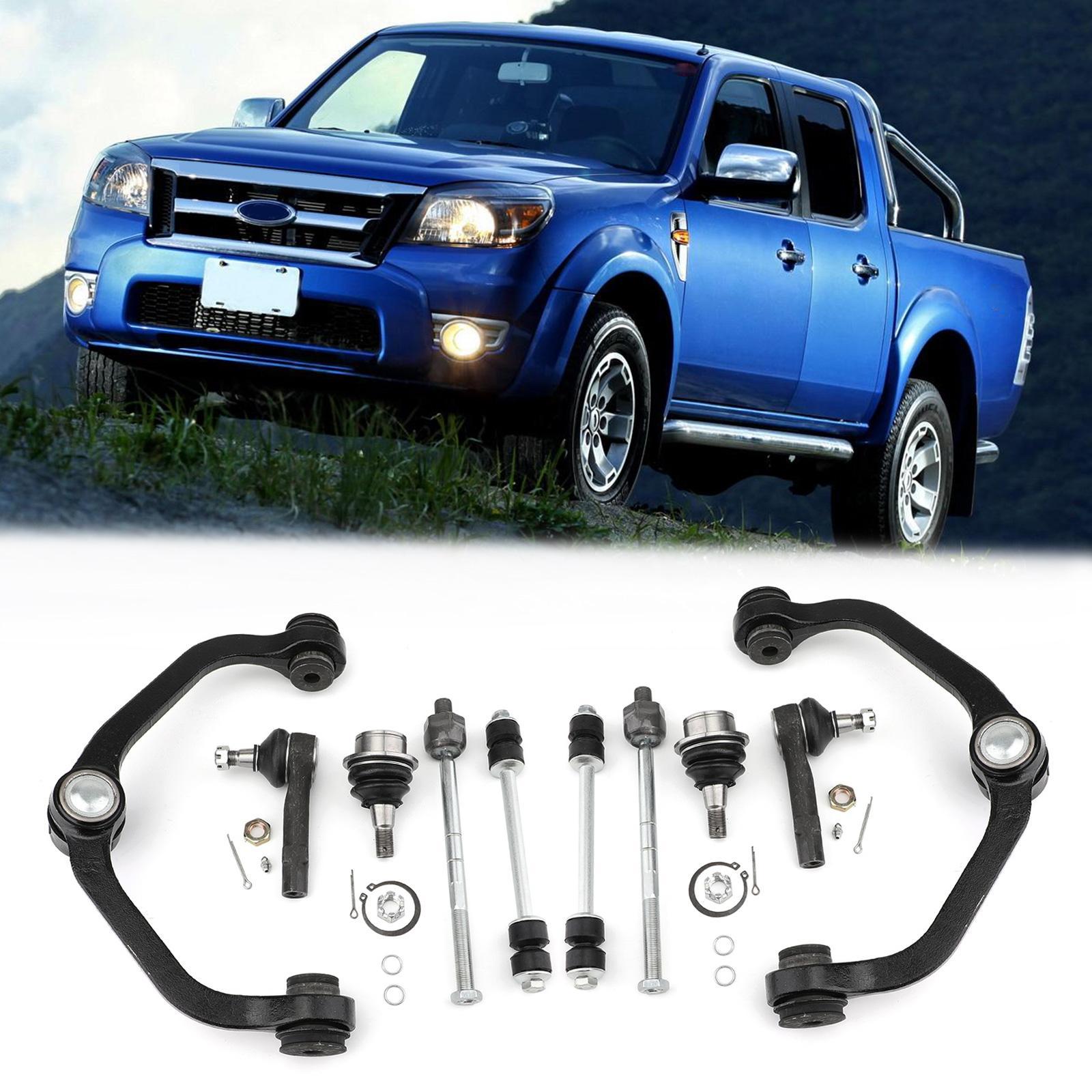 Areyourshop 2WD 10pc di controllo del braccio anteriore Giunti a sfera interno esterno Tiranti per Ford Ranger U.S. auto-designa gli accessori di ricambio
