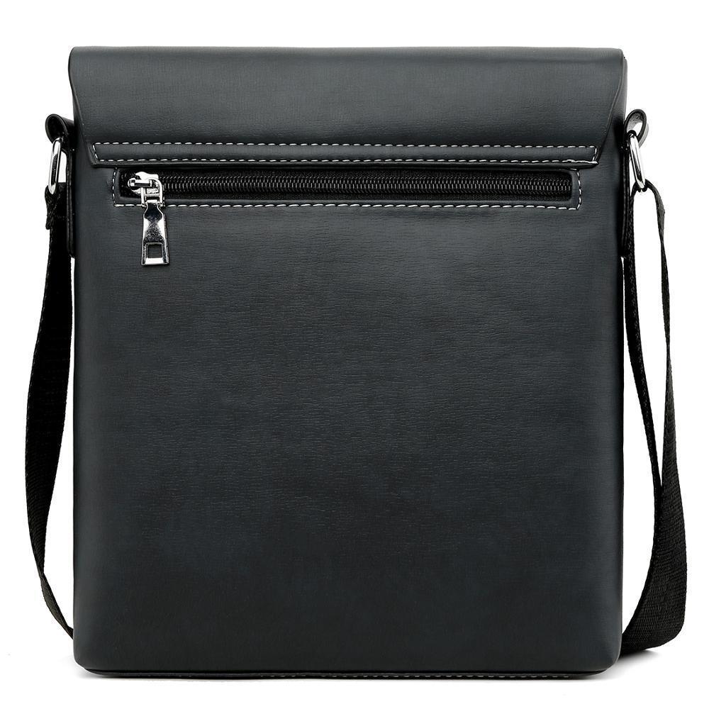 Multi-functional Men/'s Briefcase Vintage Shoulder Bag Leisure Travel Backpack