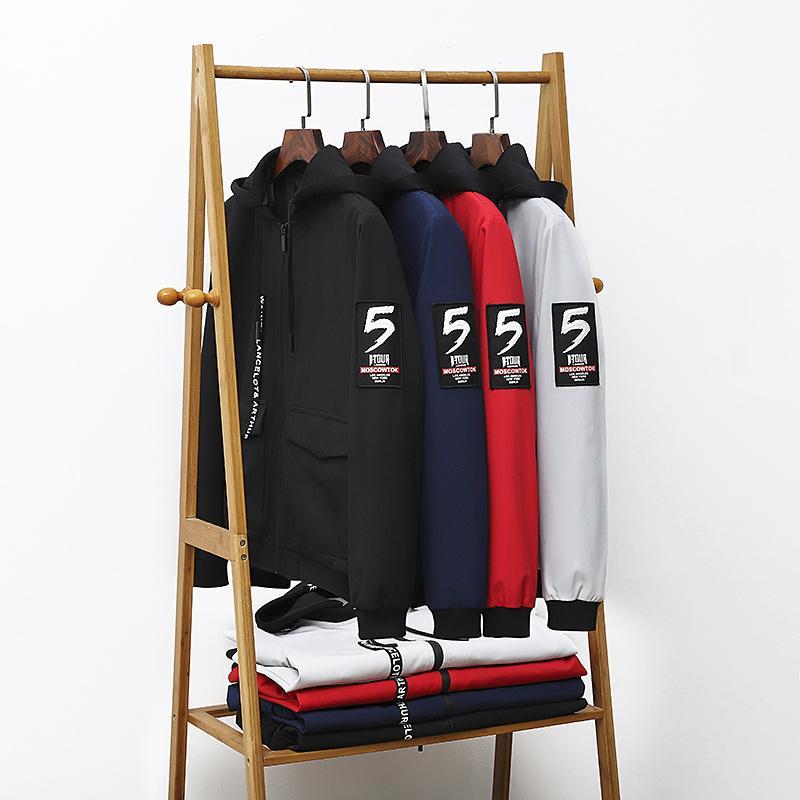 2019 Frühlings-Large Size Jacke plus-sized Fat Spandex-Style Jacke 8006
