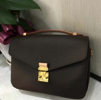Kadınlar sıcak tasarımcı çanta messenger çanta oksitleyici deri zarif omuz çantaları crossbody çantaları alışveriş çanta kavramaları 40780