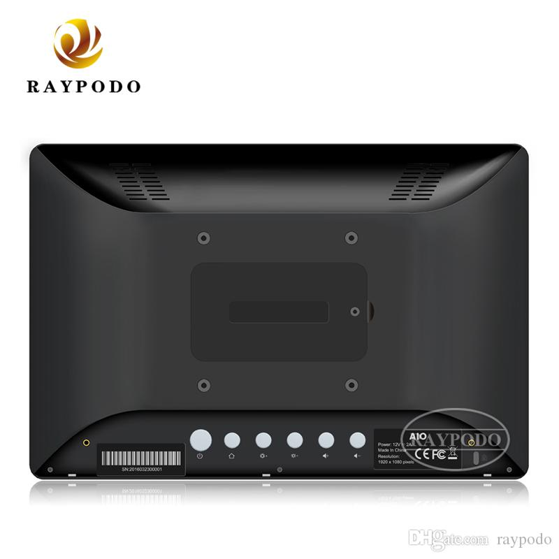 Raypodo 8 inch 10.1 inch 15.6 inch android 8.1 POE tablet with VESA wall mount for commerical using