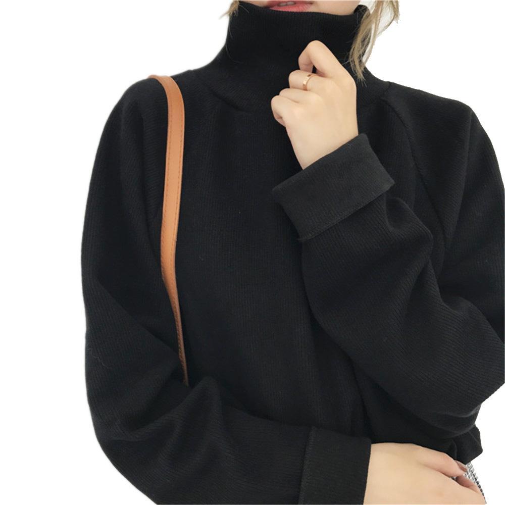 Daddy Chen Женские пуловеры и водолазки Зимний теплый повседневный вязаный джемпер Vrouwen Форме крыла летучей мыши полный рукав вязаные крючком свободные пальто