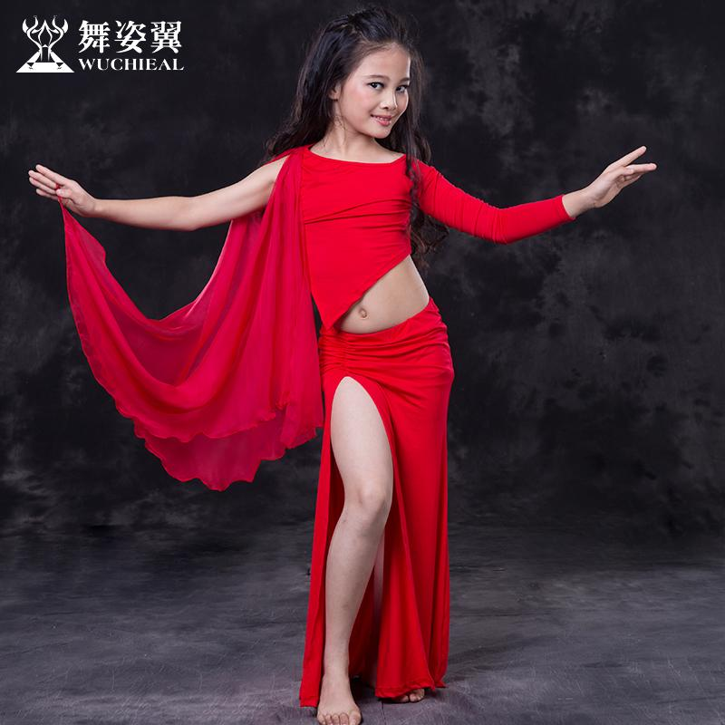 Tanzflügel Kinderpraxis tragen 2018 Neue Lianxifumodaier-Baumwoll-Rock-Set RT110