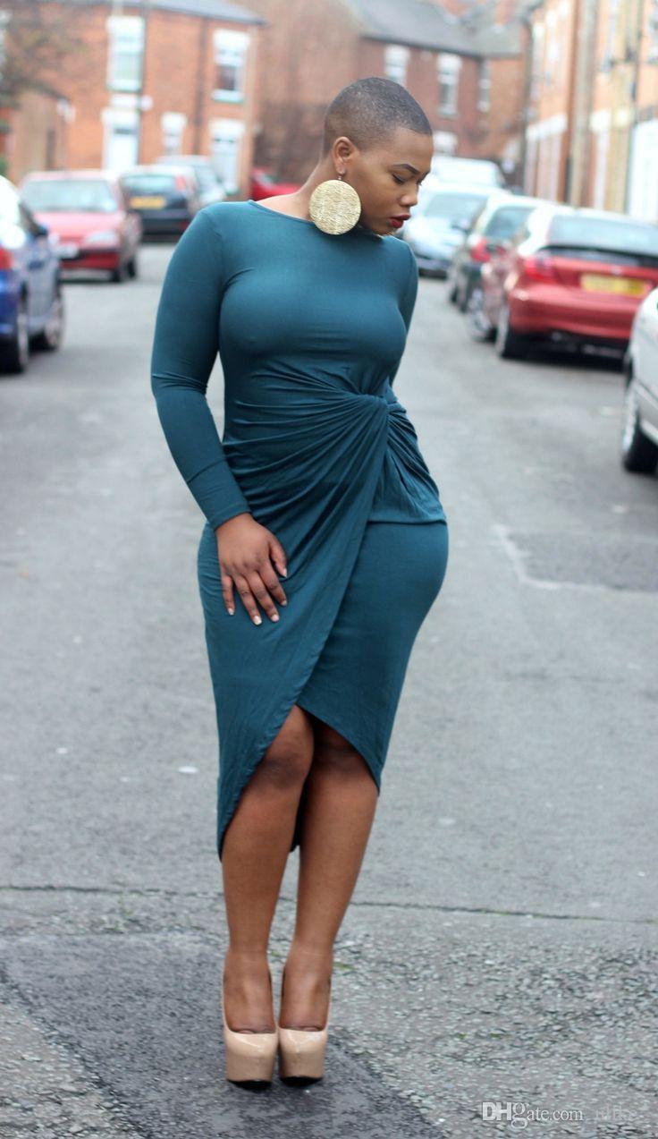 Autunno Sundress casuale del cappuccio vestito delle donne irregolare Moda dolcevita manica lunga Felpe Abiti Plus Size