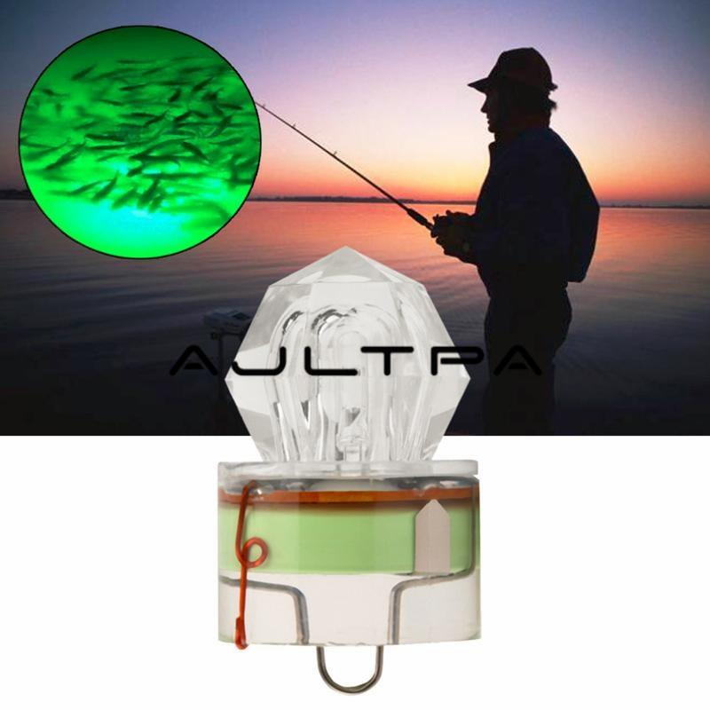 Fly Fishing Lure Light LED Deep Drop Fishing Squid Flashing Lamp Jig Glow Summer