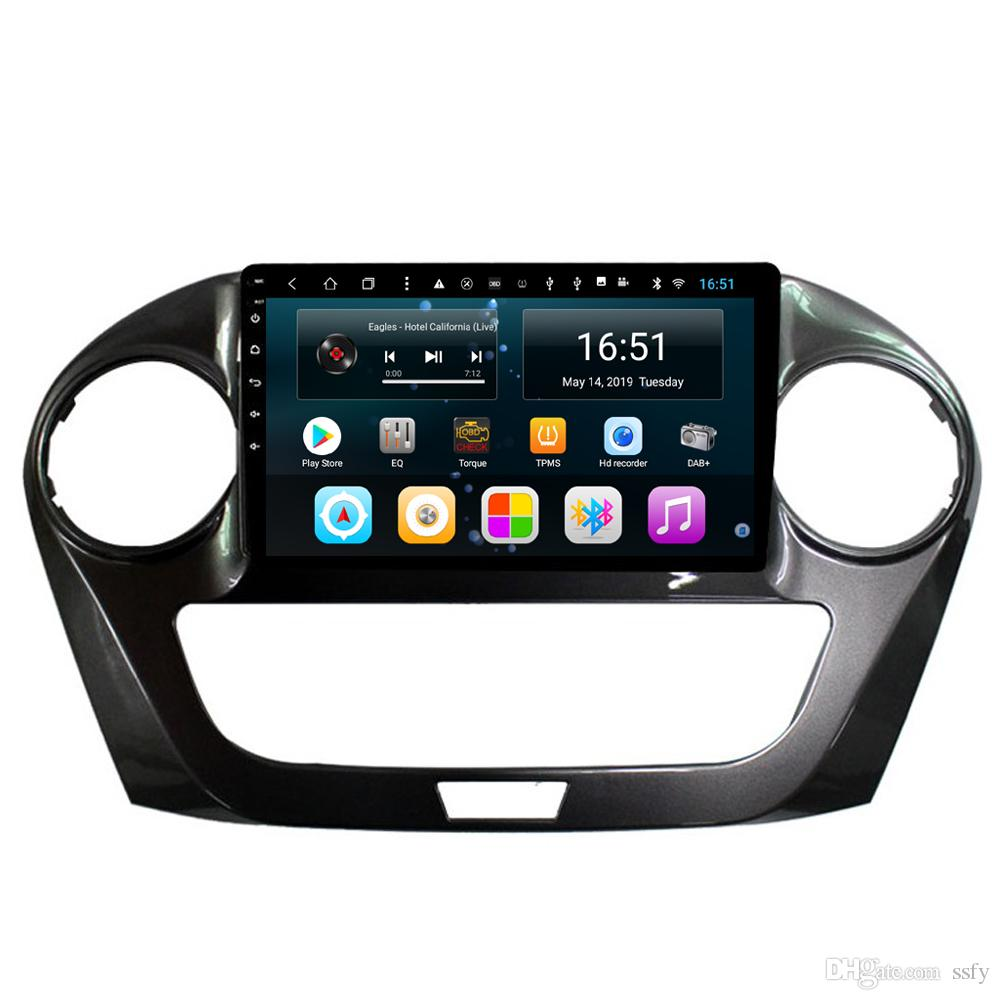 Android car player with multimedia player radio AM FM microphone bluetooth mp3 mp4 music fast delivery for JAC M3 2015 9inch