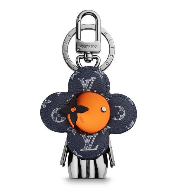 Vivienne Bag Charm and Key Holder MP1990 Key Holders and More Leather Bracelets Chromatic Bag Charm