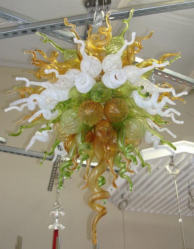 Murano Lâmpadas lustre de vidro frete grátis 100% soprado de luxo Borosilicate Contemporânea Restaurant Hotel Lobby Salão Arte decorativa