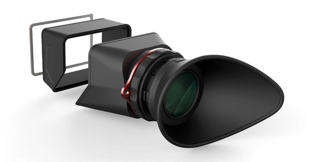 Freeshipping Multifunktions-LCD-Sucher für Canon 5D Mark II 7D für NIKON D700 D90, für Panasonic GH4 GH3 GH2 GF1 GF2