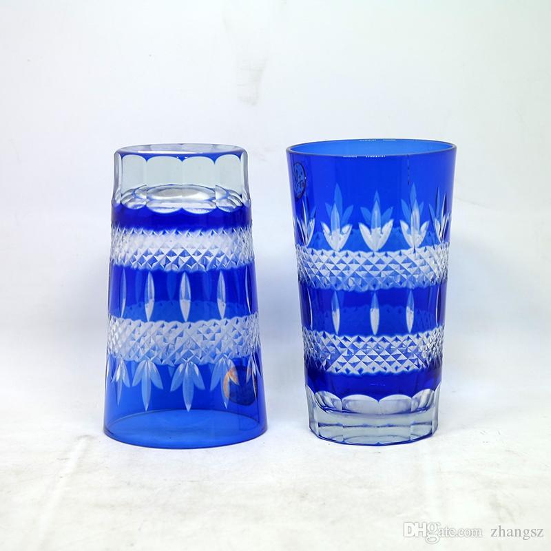 Japanese Satsuma Kiriko Blue Whiskey Tumbler Glass Edo Kiriko Sake Glass Hand Cut To Clear Water Glass Nz 2020 From Zhangsz Nz Nz 63 19 Dhgate Nz