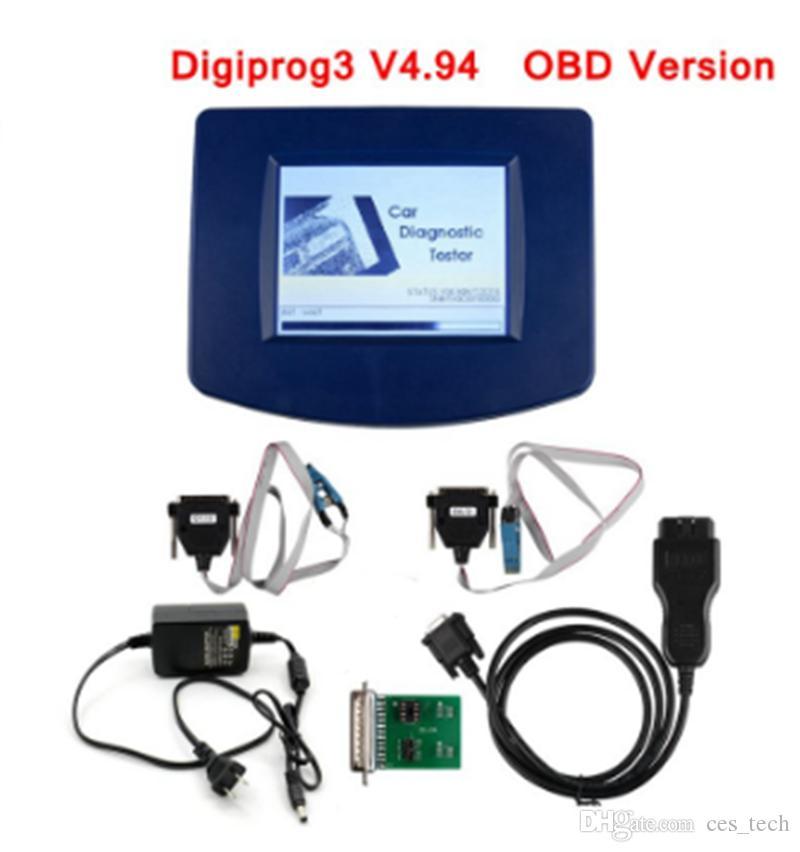 alta qualità Digiprog 3 V4.94 Contachilometri programmatore di Digiprog III OBD Cavo Con ST01 ST04 Digiprog3 OBD Versione