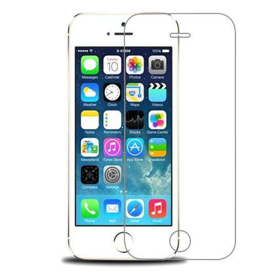 9H vidrio templado para el iphone X 8 5 5s 5c SE 6 6s más protector de la cubierta caso la película del protector de protección 7 plus pantalla