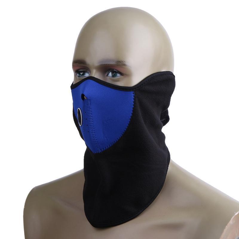 La mascarilla de la motocicleta protector de cara Ciclismo Montar a prueba de viento Máscara abrigo al aire libre Deportes Snowboard Ski cuello Dropship
