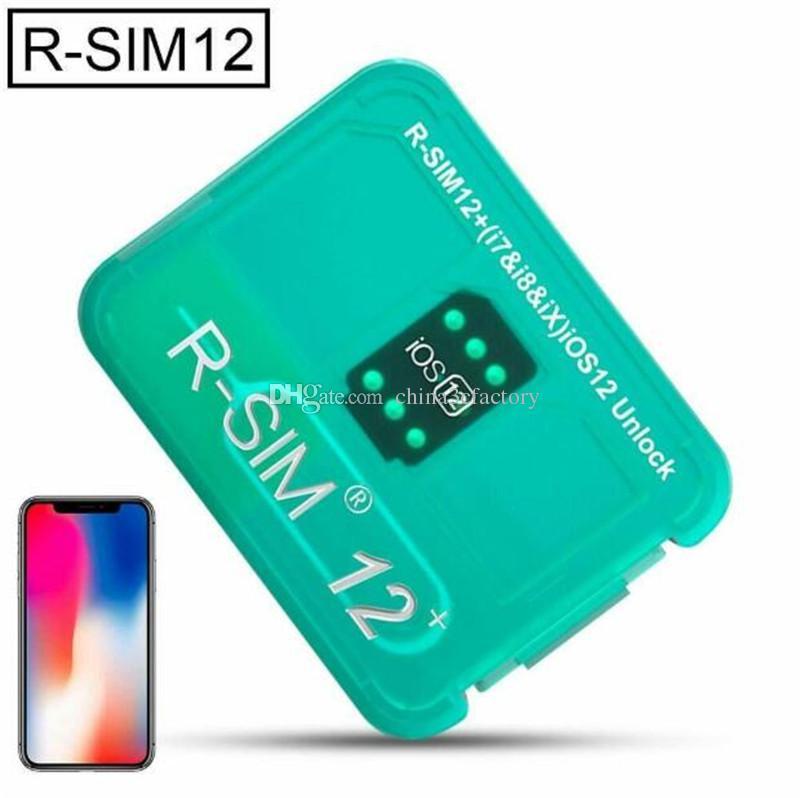 RSIM 12+ New 2019 R-SIM Nano Unlock Card fits for iPhone XS,X,8,7,6 and Plus iOS 12