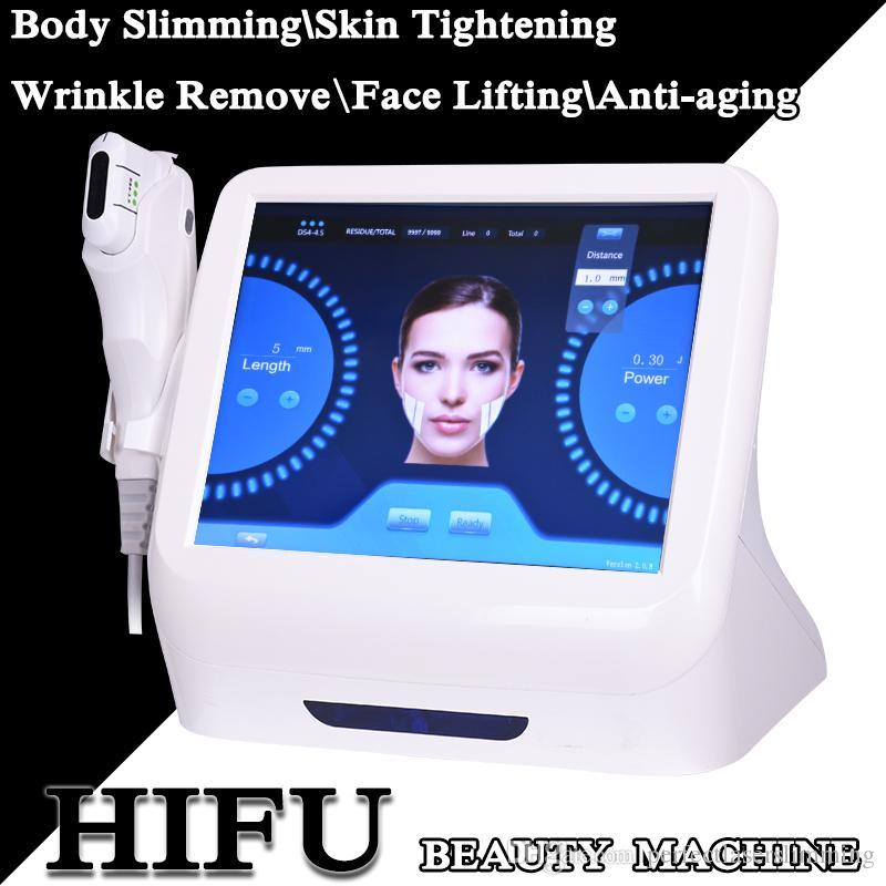 ultrasound face lifting hifu wrinkle removal HIFU Anti Aging personal ultrasound Beauty Equipment hifu skin tightening machine home use