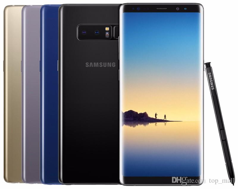 Contracts Galaxy Cell 12mp Original Samsung 64g Note Used Smartphone Ram Inch 8 From Refurbished Note8 N950u Lte Phones Android Rom 4g 6 6g Phone 3