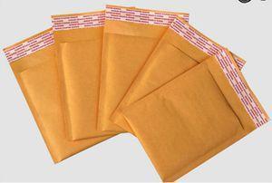 100шт 11 * 13см почтоотправители проложенные Конверты Бумажные мешки рассылки Производитель Kraft Bubble Bags