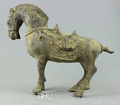 Vintage Qing dynasty Handwork Bronze dragon statue Bank money jewelry Box