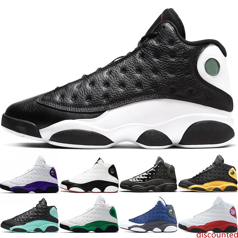 Erkekler Basketbol Ayakkabı 13s Tasarımcı Chaussures 13 Erkek Eğitmenler Ters He Got Game Ada Yeşil Playoff Sport Sneakers Boyutu 40-47 Rakipler