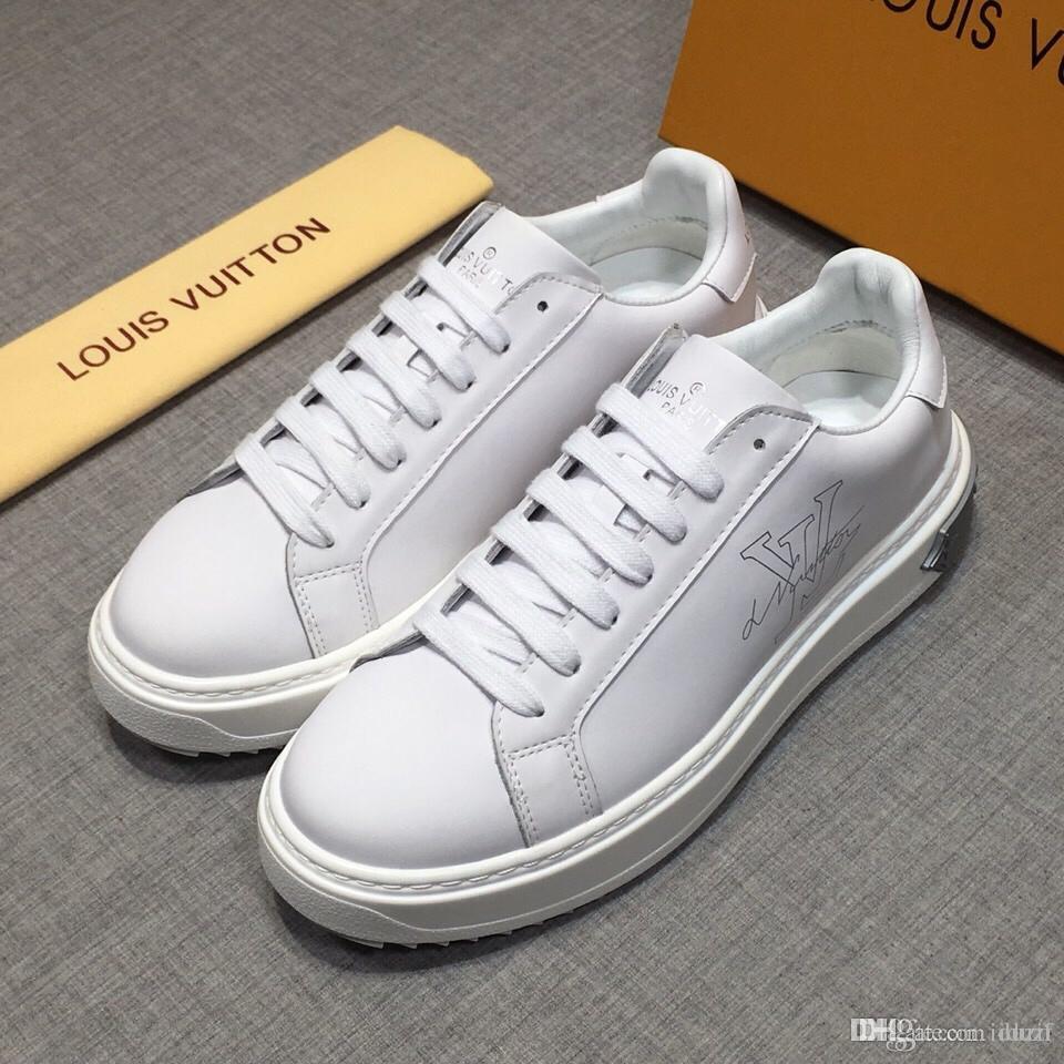 Cheap Luxury Paris Strap Sneaker Man