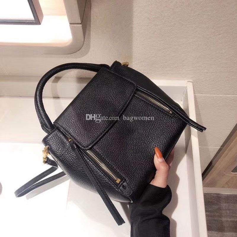 Borsa Borse di cuoio reali borse di alta qualità Borse Donne New Large Shoulder Tote Bag Genuine Leather Bag