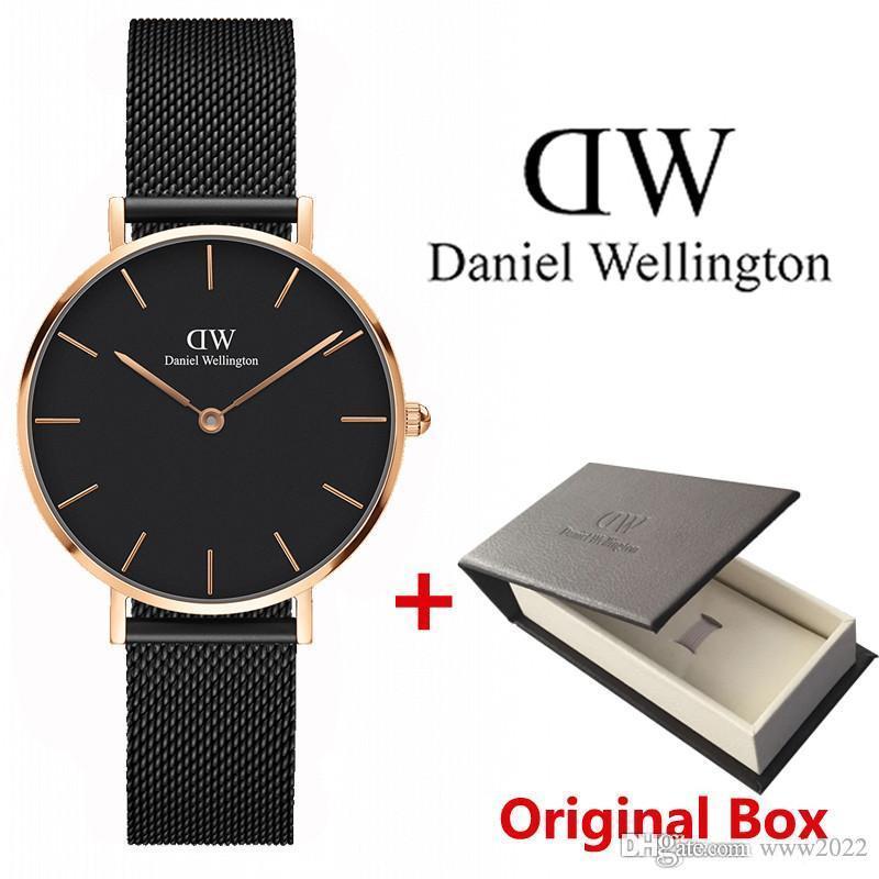 Neue Art und Weise der Frauen der Männer Uhren 40mm Männer Uhren 36mm Frauen-Uhren Famous Luxus-Quarz-Armbanduhren Relogio Montre Femme