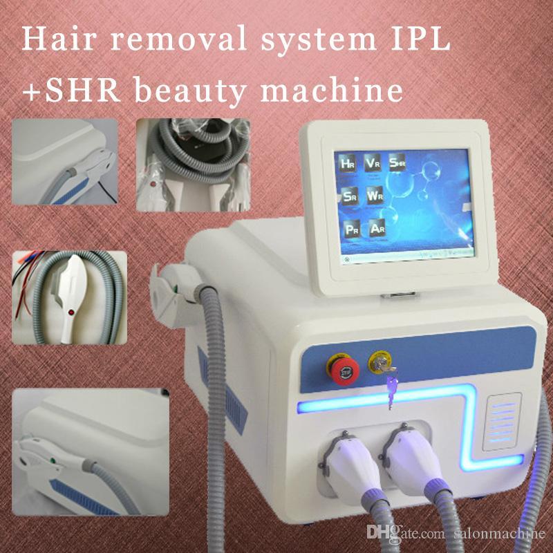 2019 Yeni Hızlı Epilasyon Sistemi IPL Yedi filtreler makinesi SHR fonksiyonu ile güzellik makinesi ücretsiz kargo