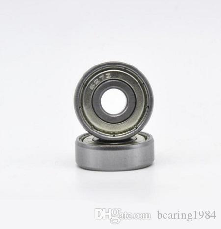 10pcs 606ZZ 6x17x6mm miniature deep groove ball bearing 6*17*6mm